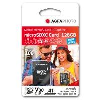 128GB microSDXC-Karte Class10 inkl. SD-Adapter, V30, U3,...